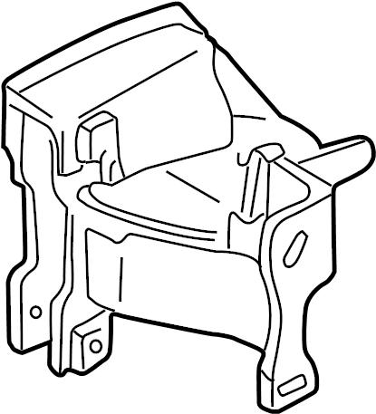 1993 Volkswagen EuroVan Bracket. Mount. Transmission