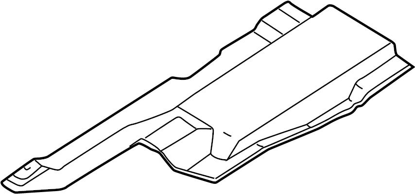 1999 Volkswagen EuroVan Shield. Rear. Heat, EXHAUST