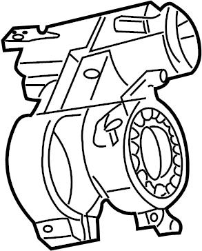 2001 Volkswagen EuroVan Ignition switch. Lock mechanism