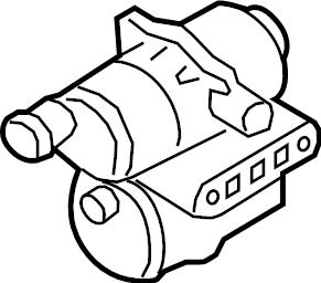 2011 Volkswagen Jetta Detection. Pump. Leak. System