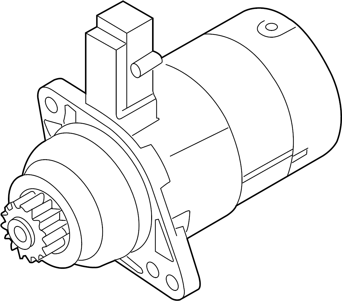 Volkswagen Passat Starter Motor Remanufactured