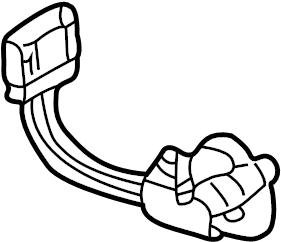 2006 Volkswagen Beetle Motor. HVAC. Air. Actuator