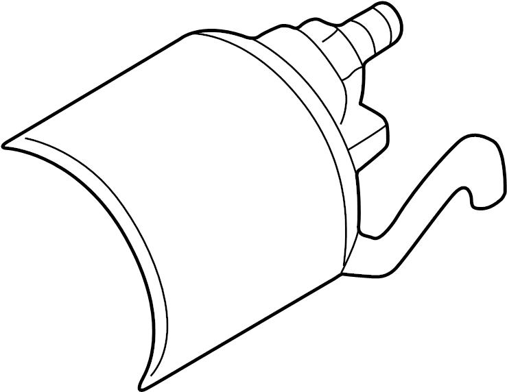 2001 Volkswagen Beetle Starter solenoid. SWITCH. Trans