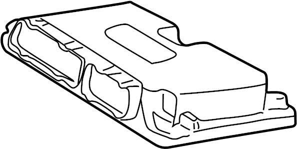 2002 Volkswagen Golf Ecm. Engine control module. Ignition