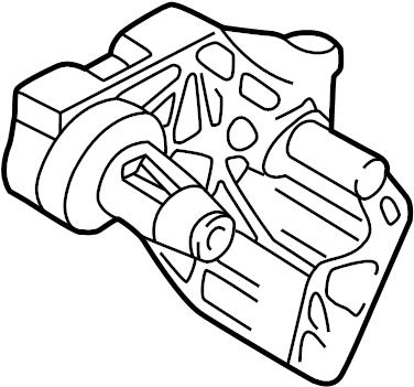 2001 Volkswagen Jetta Wagon Automatic Transmission Mount