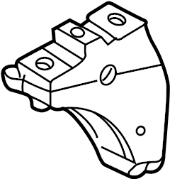 2003 Volkswagen Jetta Wagon Automatic Transmission Mount