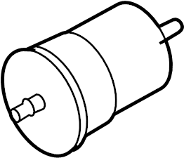 2004 Volkswagen Beetle Convertible Fuel Pump Filter