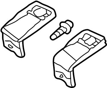 2001 Volkswagen Jetta Headlight Restoration Kit (Upper