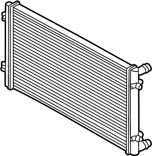 2006 Volkswagen Golf Radiator. Order radiator by year