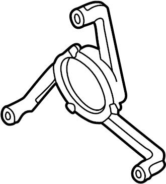 2002 Volkswagen Jetta Wagon Engine Cooling Fan Motor