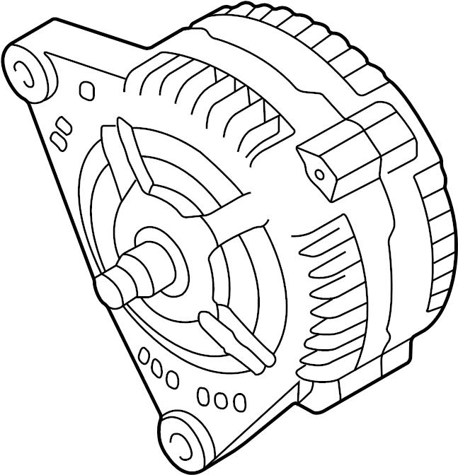 2005 Volkswagen Beetle Alternator. 70 Amp. Beetle; 70 Amp