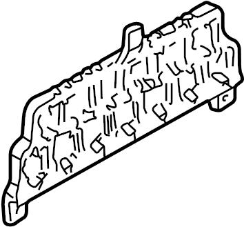 1999 Volkswagen Passat Relay. Fuse. Bracket. Mount. Plate