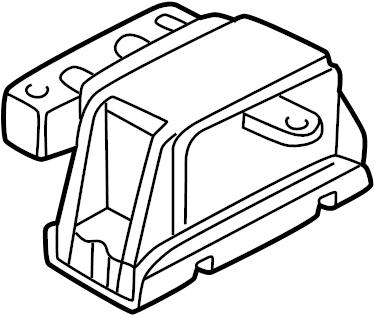 2002 Volkswagen Jetta Mount. Gear. Replacement Motor