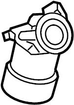 1992 Volkswagen Corrado Engine Oil Filter Housing. Oil