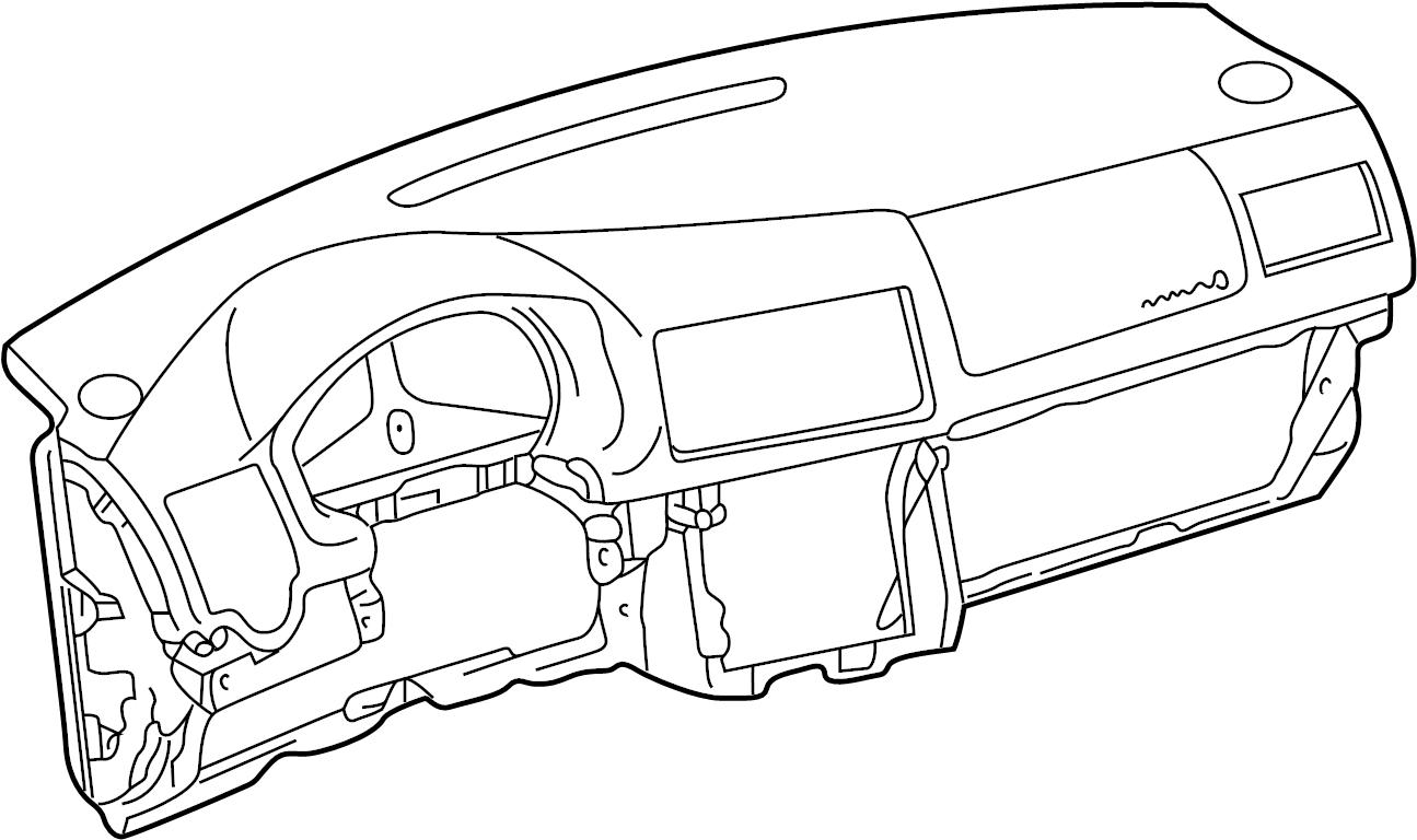2003 Volkswagen Jetta Dashboard Panel. Instrument, Make