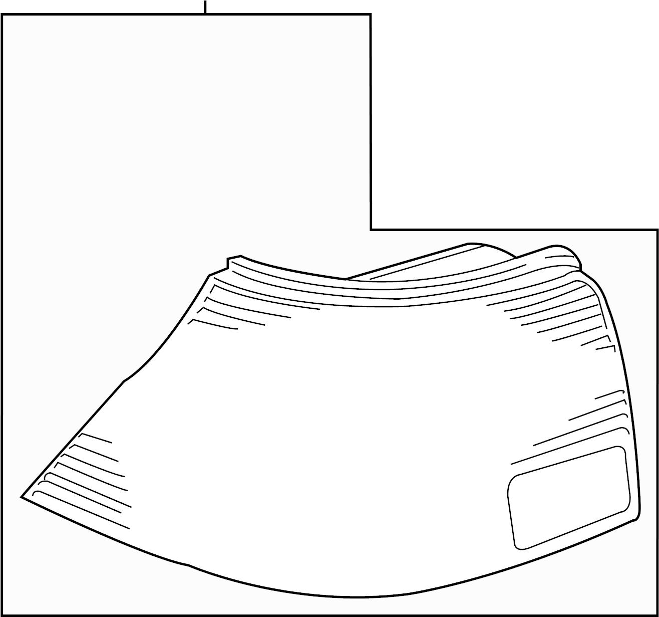 Volkswagen Jetta Tail Light Assembly Rear Left