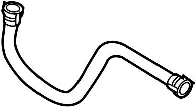 2014 Volkswagen Jetta GLI Connector hose. Connector pipe