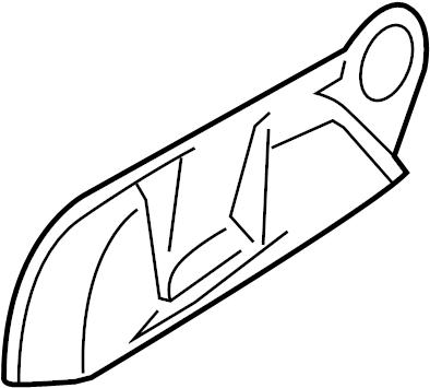 2009 Volkswagen Jetta Wagon Seat Trim Panel