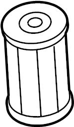 2009 Volkswagen Jetta Strainer. Transmission filter