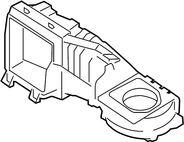 2011 Volkswagen GTI Air Conditioning (A/C) Evaporator Core