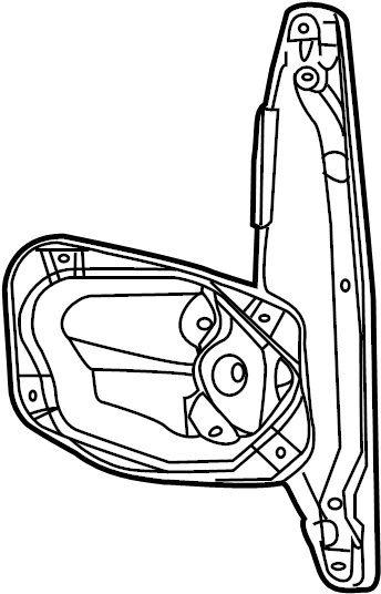 2009 Volkswagen Jetta Window Regulator. WAGON, Right, Make