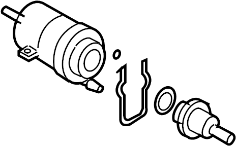 2007 Volkswagen Jetta Fuel Pressure Regulator. Fuel Pump