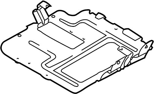 2007 Volkswagen Eos Cd changer bracket. Mount bracket