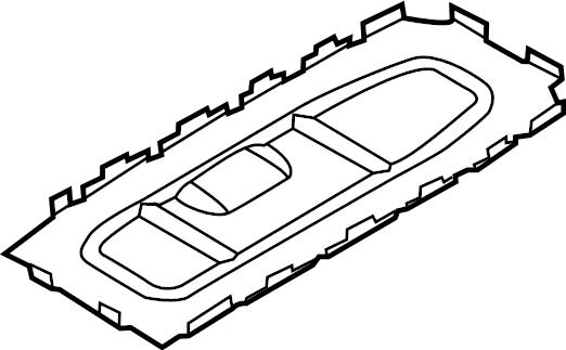 2009 Volkswagen Eos Manual Transmission Shift Lever