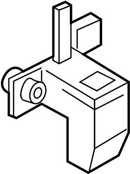 2014 Volkswagen Jetta Seat Track Position Sensor. CUSHION