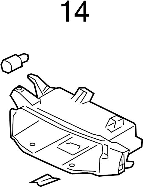2009 Volkswagen Jetta Frame buffer. Guide bumper. Included