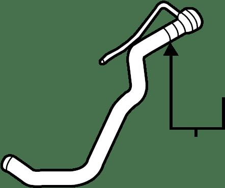 2013 Volkswagen Beetle Convertible Hvac heater hose. Make