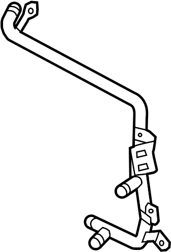 2015 Volkswagen Beetle Convertible Tube. Pipe. Connector
