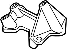 2001 Volkswagen Jetta Ignition coil bracket. Ignition Coil