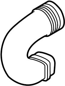 2015 Volkswagen Beetle Engine Air Intake Hose. 1.8 LITER