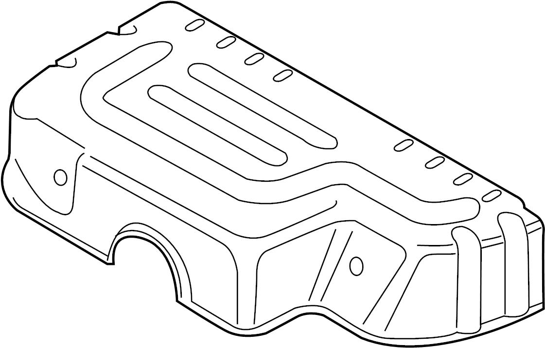2014 Volkswagen Jetta Cover plate. SUPPORT. SEDAN, W/O