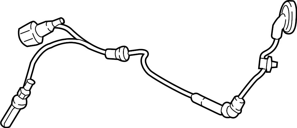 2018 Volkswagen Alltrack Abs wheel speed sensor wiring