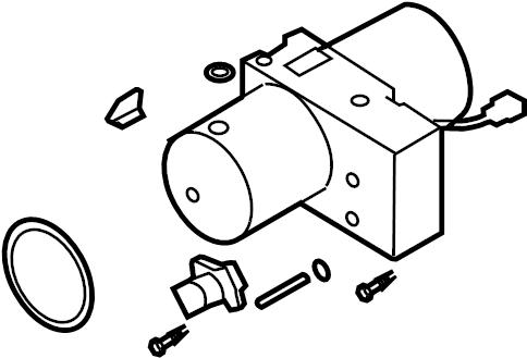 2008 Volkswagen Eos Convertible Top Hydraulic Pump
