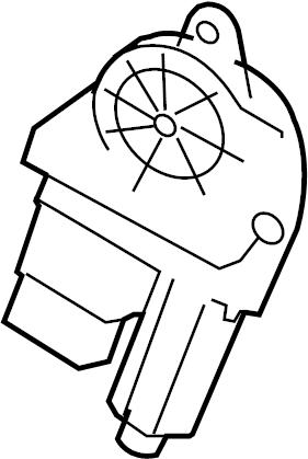2016 Volkswagen Eos Power Window Motor. Regulator, Make