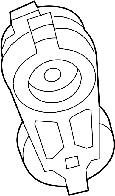 2009 Volkswagen Routan Accessory Drive Belt Tensioner