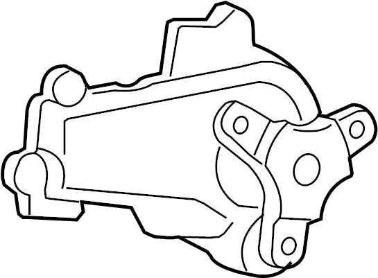 2009 Volkswagen Routan Engine Water Pump. Water pump