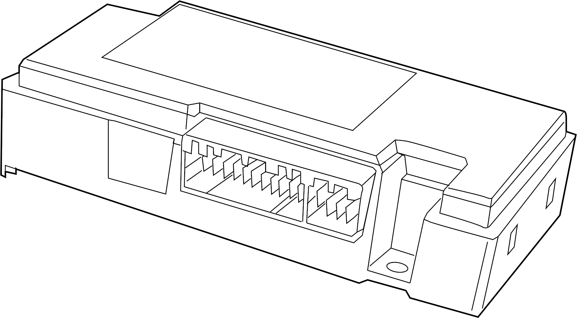2010 Volkswagen Routan Contr unit. Module. Telematics