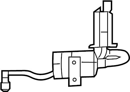2012 Volkswagen Routan Filter. Evaporative Emissions