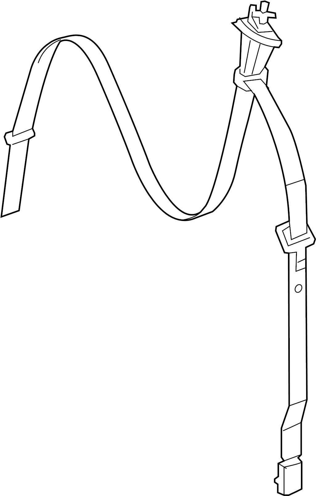 Volkswagen Routan Seat Belt Lap And Shoulder Belt