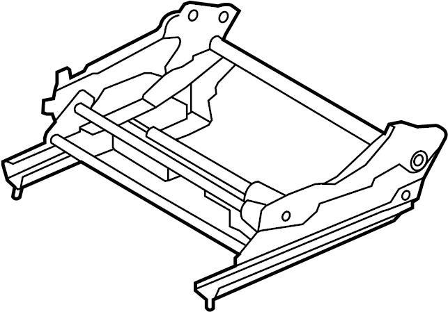 2010 Volkswagen Routan Seat Adjuster. Routan; Left; w