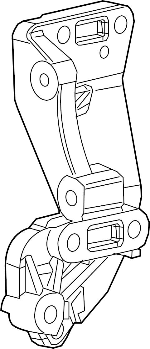 2007 Volkswagen GTI A/c compressor bracket. Air