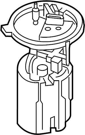 2002 Volkswagen Beetle Electric Fuel Pump. Beetle; 2.5L
