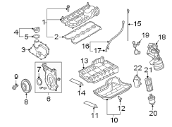 2006 Volkswagen Jetta Adapter gasket. Filter ASSEMBLY