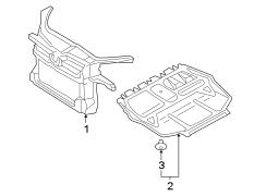 2010 Volkswagen Jetta Support. Panel. Liter, Engine, WAGON