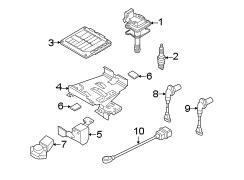 2008 Volkswagen Rabbit Presssens. Pressure sensor. Thrust