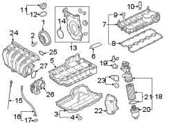 2011 Volkswagen Jetta Adapter. Oil filter hsng. 2.5 liter